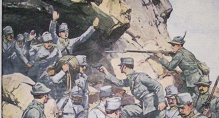 La conquista del Monte Nero